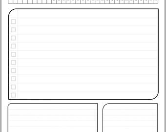 2018 Daily Calendar for Noteshelf app or Printable