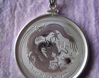 Dragon Lunar Series II Coin Pendant (Half Ounce)