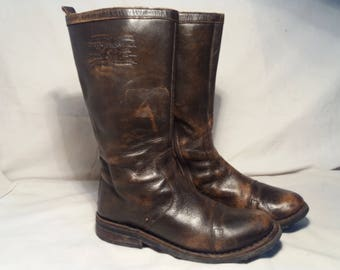 Vintage ,,LEVI STRAUSS'' Leather Women's Boots