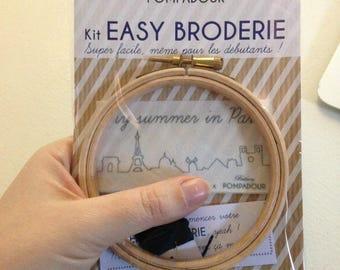 Paris Skyline - Kit EASY BRODERIE