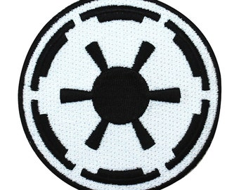 Emblem Of The Galactic Empire Iron-On Patch Star Wars Cosplay Accessory Applique