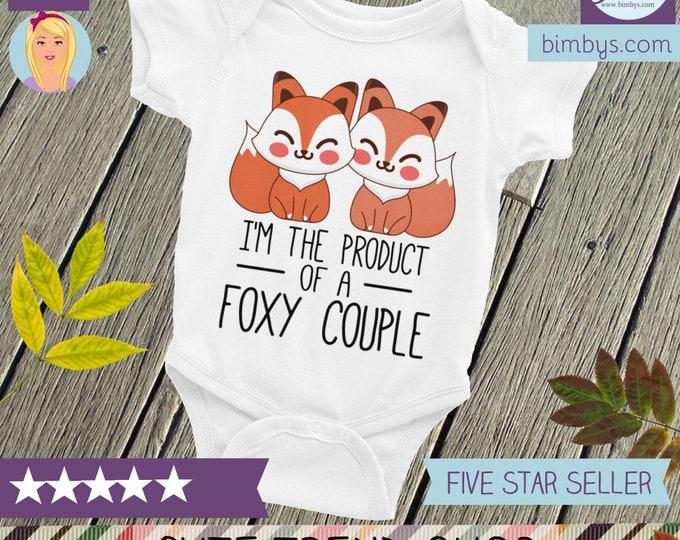 Cute baby shirt ,fox Bodysuit  cute clothes , infant shirts, baby bodysuit, baby shower gift, baby clothes, baby shower, baby boy, baby girl