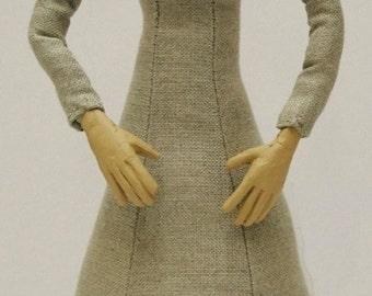 Tudor Woman Doll Kit - Blonde Hair