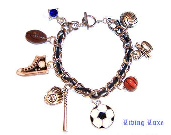 Sports Pride Ltd Original Charm Bracelet by ShopAtLuxe