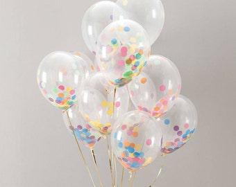 CUSTOM CONFETTI BALLOON / birthday balloon / gender reveal / party decoration