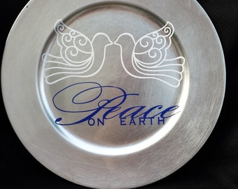 Peace on Earth Plate