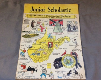 Junior Scholastic Magazine Centennial Birthday May 8th, 1963