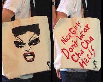 Female Trouble Divine Dawn Davenport tote bag