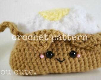 CROCHET PATTERN- AMIGURUMI Baked Potato
