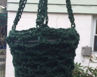 Crochet Heavy Twine Plant Hanger
