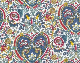 Flowers, liberty fabric, kitty grace