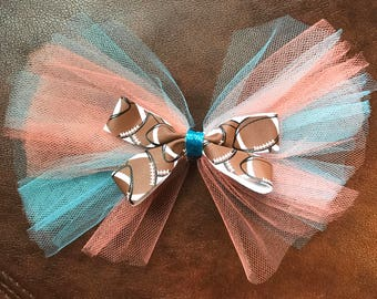 Miami Dolphins Football Bow