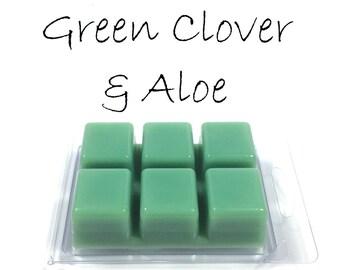 Green Clover & Aloe Scented Wax Tarts