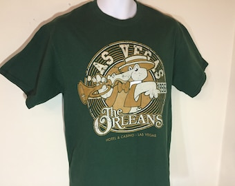 The ORLEANS Hotel Casino Las Vegas POKER -T-Shirt Adult  - M     u