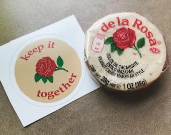 "De La Rosa Mazapan ""Keep it Together"" Sticker"