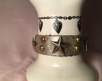 Zilveren ster armband. Vintage jaren 1990.
