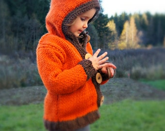 KNITTING PATTERN - The Foxy Coat