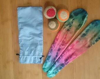 Psychedelic Sock Poi - 3in1 - Sock Poi / Hackey Sack / Juggling Balls