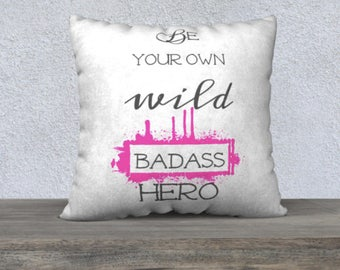 Encouragement Quote | Encouragement Gift | Pillows with Sayings | Throw Pillow Covers with Words | Pillow Covers 18x18 | Pillow Covers 22x22