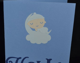 "Hello ""Baby Boy"" card"