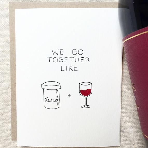 Funny Love Card Friendship Card Boyfriend Birthday