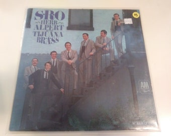 Herb Alpert and The Tijuana Brass - S.R.O. VG++ Original Mono Press A&M LP-119 Record 1966 - Play Tested Latin Pop jazz