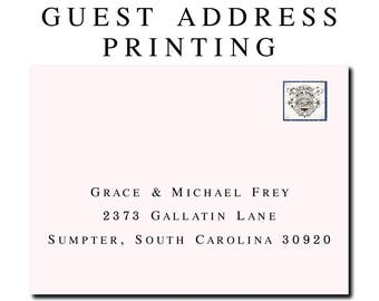 Envelope Address Printing Tirevi Fontanacountryinn Com