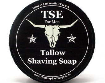 Black Tux Shaving Soap, Shave Soap, Traditional Wet Shaving Soap, Italian Style Shave Soap, The Soap Exchange