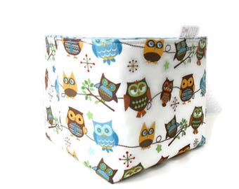 Baby toy storage storage basket nursery storage owl diaper caddy toy storage baby gifts baby shower gifts baby boy