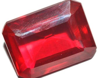 20.50 Ct Natural Huge Pigeon Blood Red Mozambique Ruby GGL Certified AAA+ Gems