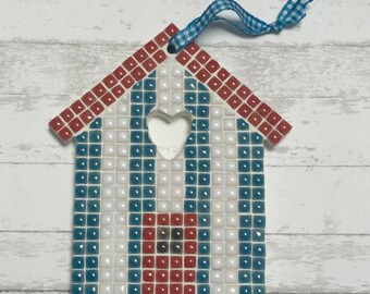 Fun Lily Mosaics D.I.Y. Mosaic Beach Hut Kit for adults and children