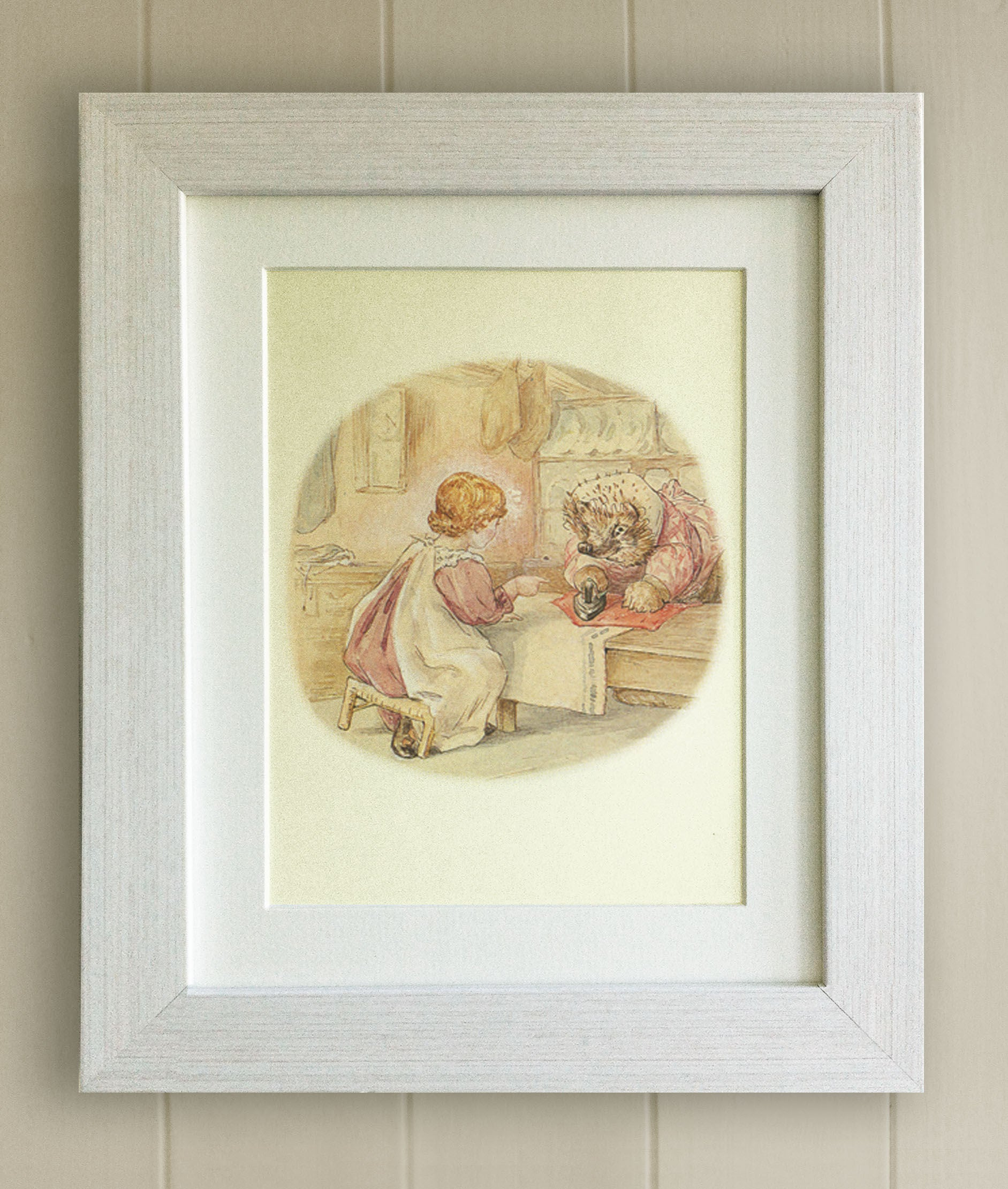 FRAMED Beatrix Potter Print New Baby/Birth Nursery Picture