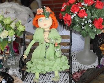 Handmade doll Art doll Gift doll Interior doll