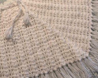 Crocheted Poncho  (Ref: B1/3)