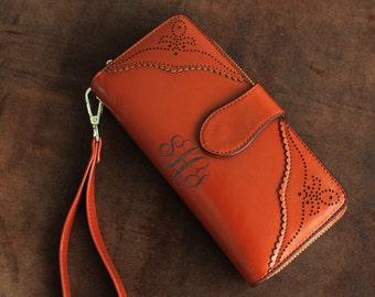 Personalized Womens Wallet gift for women, personalized womens gifts womens leather wallet, monogram wallet best friend gift