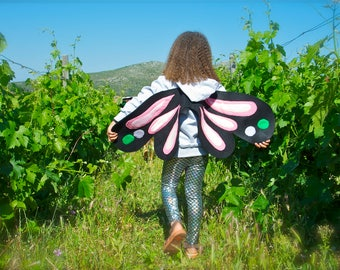 Butterfly Hoodie, Girl Christmas Gift, Fairy Wings, Wings for Kids, Butterfly Costume, Kids Wings, Girls Dress Up, Girl Birthday Party