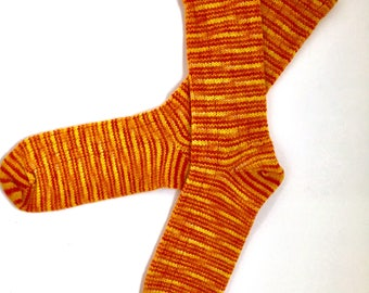 Chaussettes en laine fait main 451--taille pour hommes 11-13