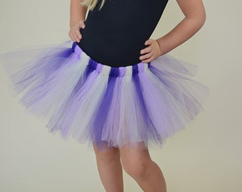 Purple Tutu - Ballerina Tutu - Birthday Tutu - Birthday Outfit - Baby Tutu - Birthday Skirt - Toddler Tutu - Multicolor Tutu - Baby Skirt