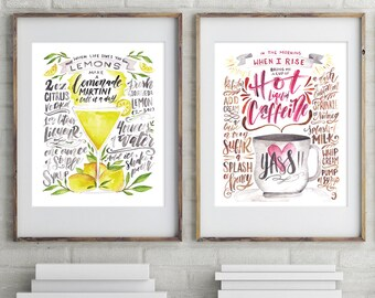 Any TWO Prints / 2 for 20 / Choose from any in My shop