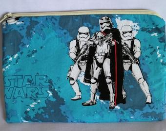 Stormtrooper zip/cosmetic bag.