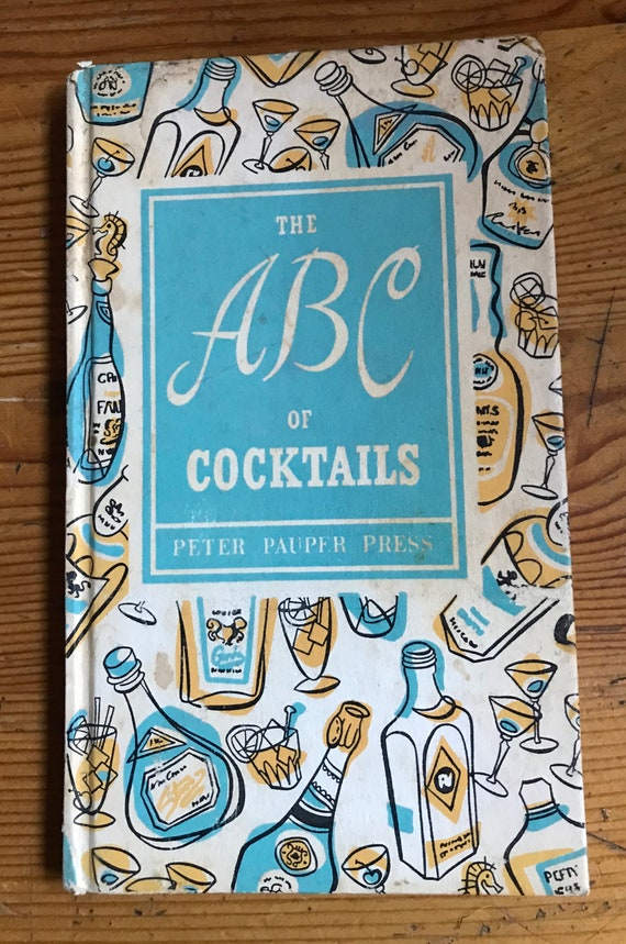 1953 vintage hardcover book Peter Pauper Press the abcs of