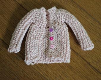 Pink vest for pullip dolls