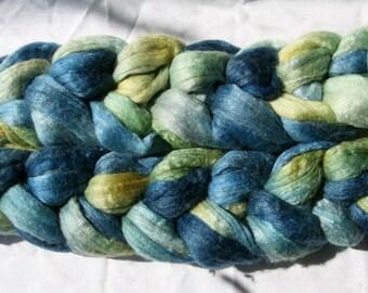 Polwarth Tussah Silk Spinning Fiber - 'IPM'