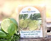 Rosemary Goat Milk Soap -...