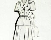 1950s Dress Pattern Maria...
