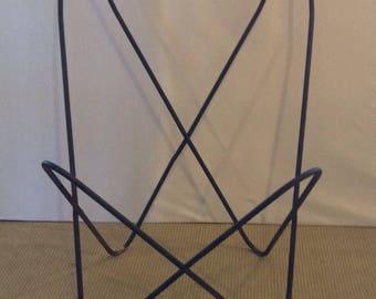 Vintage Black Modern Butterfly CHILD's Chair Frame KNOLL Jorge Ferrari-Hardoy Style 50's