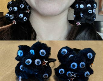 Soot Sprite Cluster Hairtie Accessory