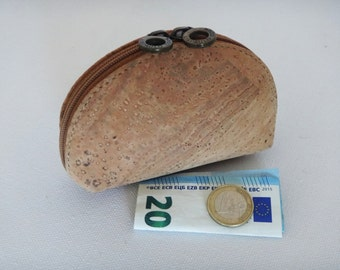 Cork Coin Purse - FREE SHIPPING WORLDWIDE - Vegan Eco-Friendly Mothers Day Gift Idea