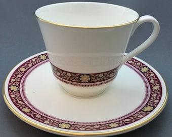 Royal Doulton Minuet Tea Cup and Saucer