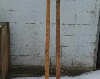 Vintage Wood Quilt Frame -- 109 inch